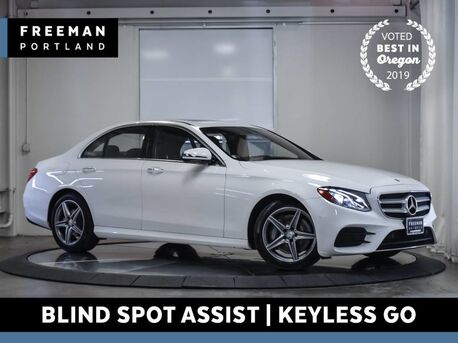 2017_Mercedes-Benz_E 300_Sport Keyless Go Blind Spot Assist Heated Seats_ Portland OR
