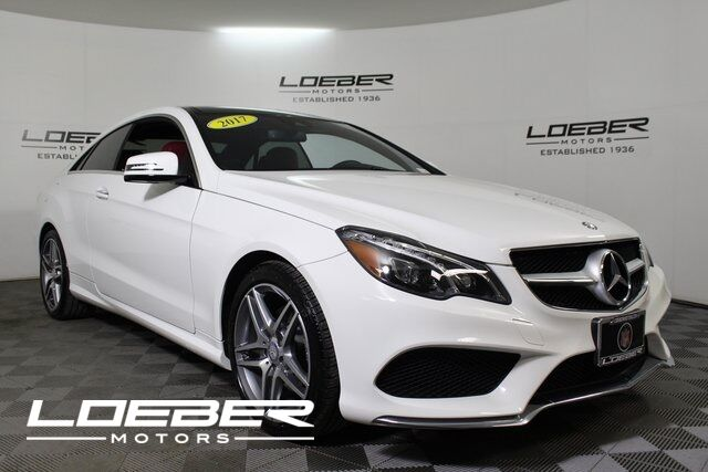 2017 Mercedes-Benz E 400 4MATIC® Coupe Lincolnwood IL