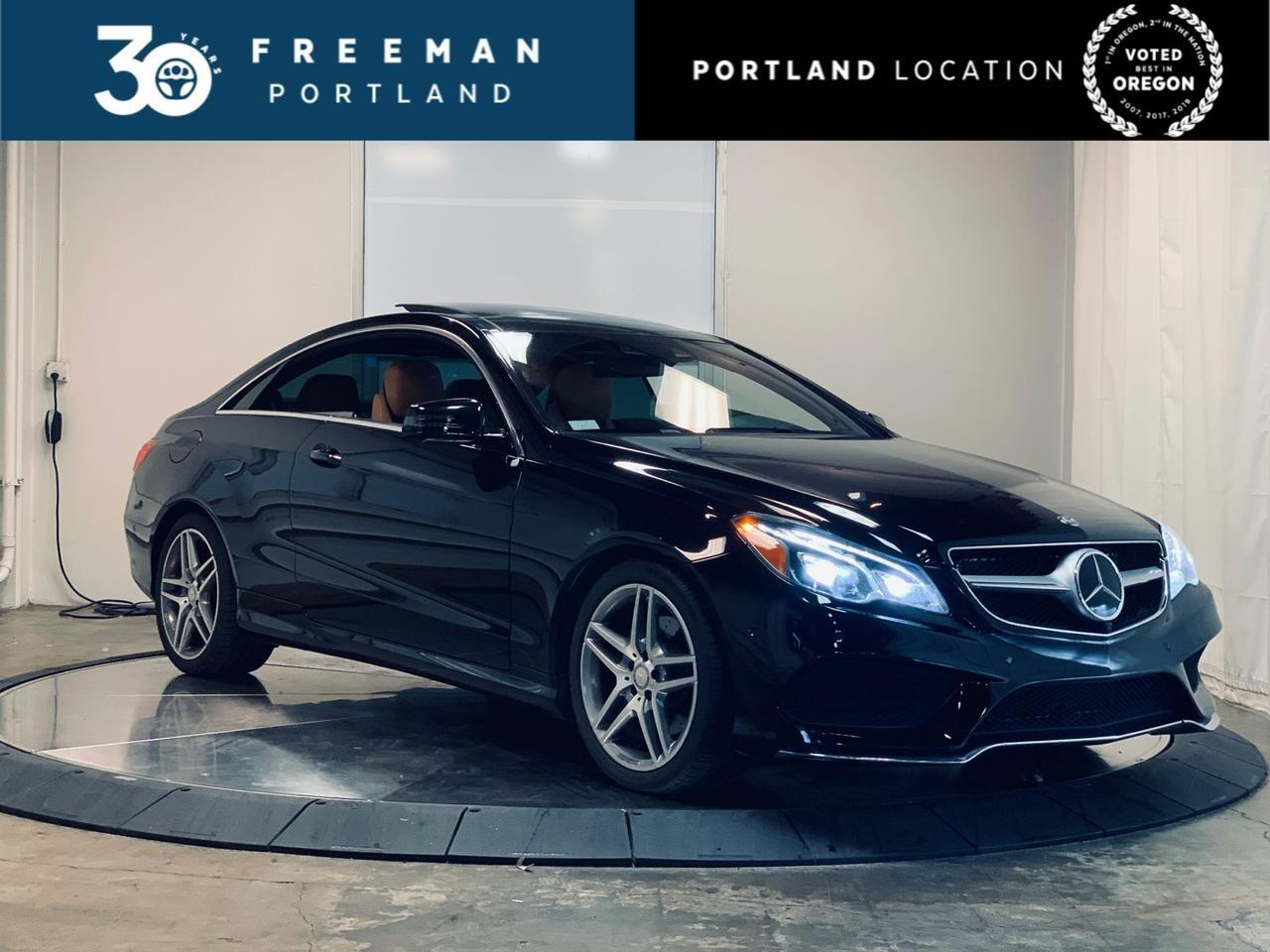 2017 Mercedes-Benz E 400 Coupe AMG Sport Pano Distronic+ Surround Camera Portland OR
