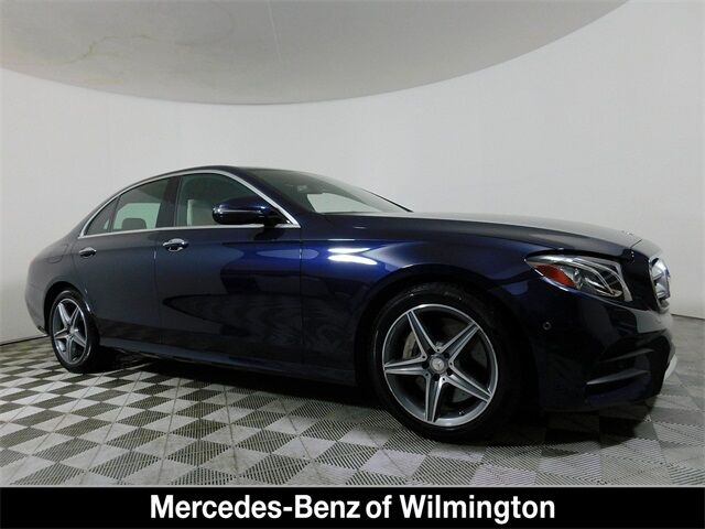 2017 Mercedes-Benz E-Class 300 4MATIC® Sedan Wilmington DE