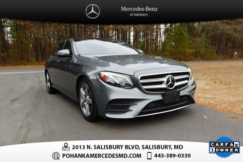 2017_Mercedes-Benz_E-Class_E 300 ** MB CPO EVENT-2FREE PMT CREDITS UP TO $1,500  **_ Salisbury MD