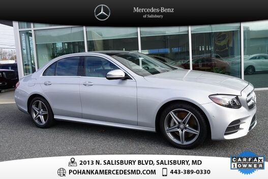 2017_Mercedes-Benz_E-Class_E 300 4MATIC®  **  MERCEDES-BENZ CERTIFIED  **_ Salisbury MD