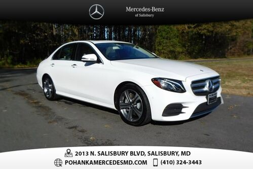 2017_Mercedes-Benz_E-Class_E 300 4MATIC® ** Navi & Sunroof ** BEST MATCH **_ Salisbury MD