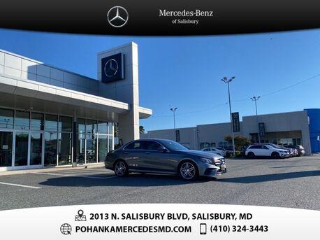 2017_Mercedes-Benz_E-Class_E 300 4MATIC®** ALL WHEEL DRIVE **_ Salisbury MD
