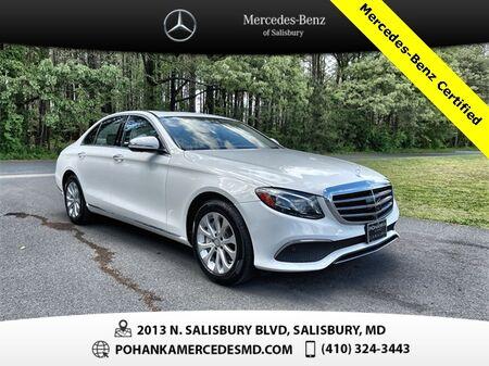 2017_Mercedes-Benz_E-Class_E 300 4MATIC®** Mercedes-Benz Certified **_ Salisbury MD