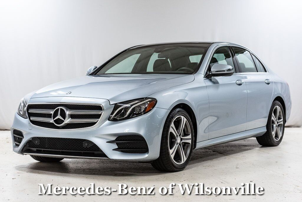 2017 Mercedes-Benz E-Class E 300 4MATIC® Sedan Wilsonville OR