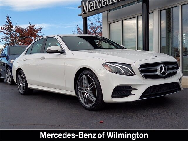2017 Mercedes-Benz E-Class E 300 4MATIC® Sedan Wilmington DE