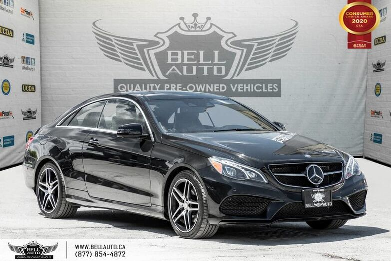 2017 Mercedes-Benz E-Class E 400, COUPE, AWD, NO ACCIDENT, NAVI, 360 CAM Toronto ON