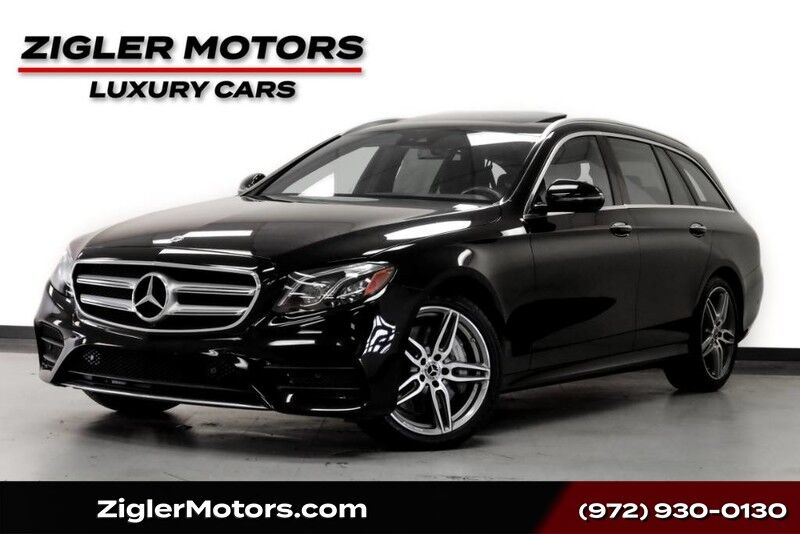 2017 Mercedes-Benz E-Class E 400 Sport 4Matic Wagon AMG Style One Owner Clean Carfax Addison TX