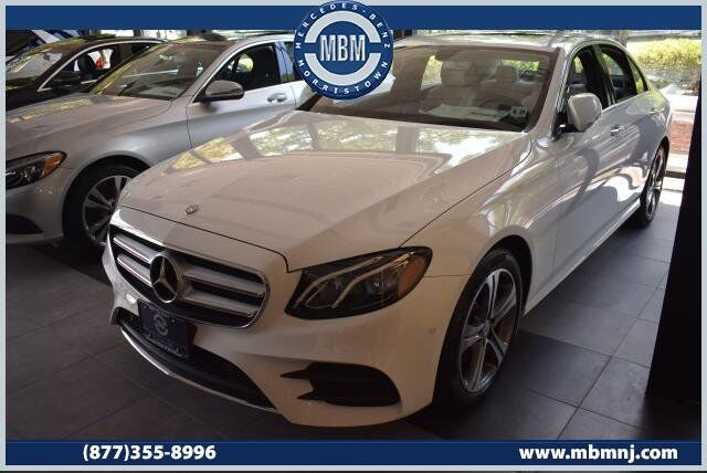 2017 Mercedes-Benz E-Class E300 4MATIC® Sedan Morristown NJ