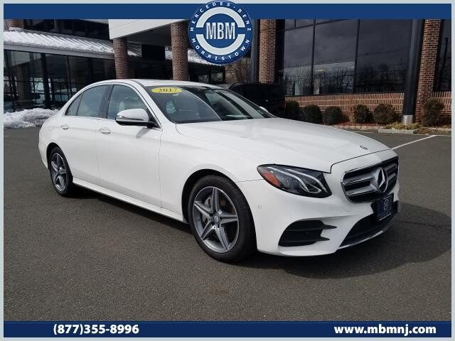 2017 Mercedes-Benz E-Class E300 Sport 4MATIC® Sedan Morristown NJ