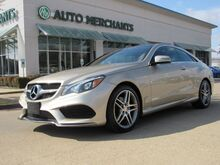 2017_Mercedes-Benz_E-Class_E400 4MATIC Coupe ***SPORT PKG/PREM 2 PKG/KEYLESS GO*** Panoramic Roof, Leather, 3.0L Turbocharged_ Plano TX