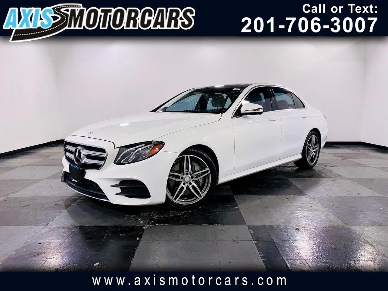 2017 Mercedes-Benz E300 4MATIC w/Panoramic Roof Navigation Jersey City NJ