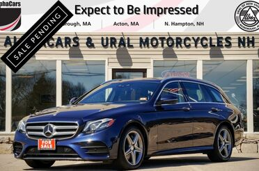 2017_Mercedes-Benz_E400_4Matic P3 Sport Wagon_ Boxborough MA