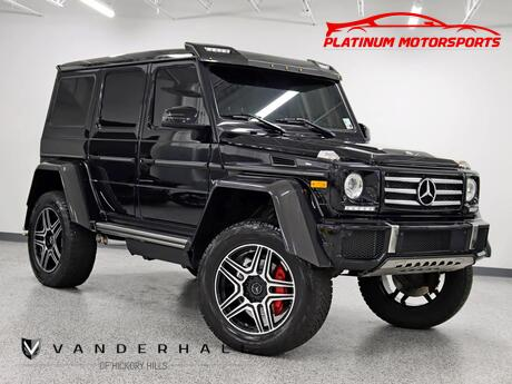 2017 Mercedes-Benz G 550 4x4 Squared 1 Owner Designo Sport Exhaust System Power Boards Serviced Carfax Certified Loaded Hickory Hills IL