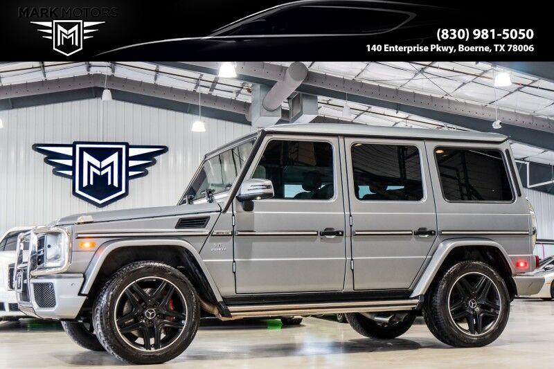 2017_Mercedes-Benz_G-Class_AMG G 63_ Boerne TX