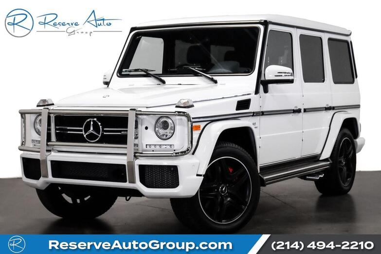 2017 Mercedes-Benz G-Class AMG G 63 Designo The Colony TX