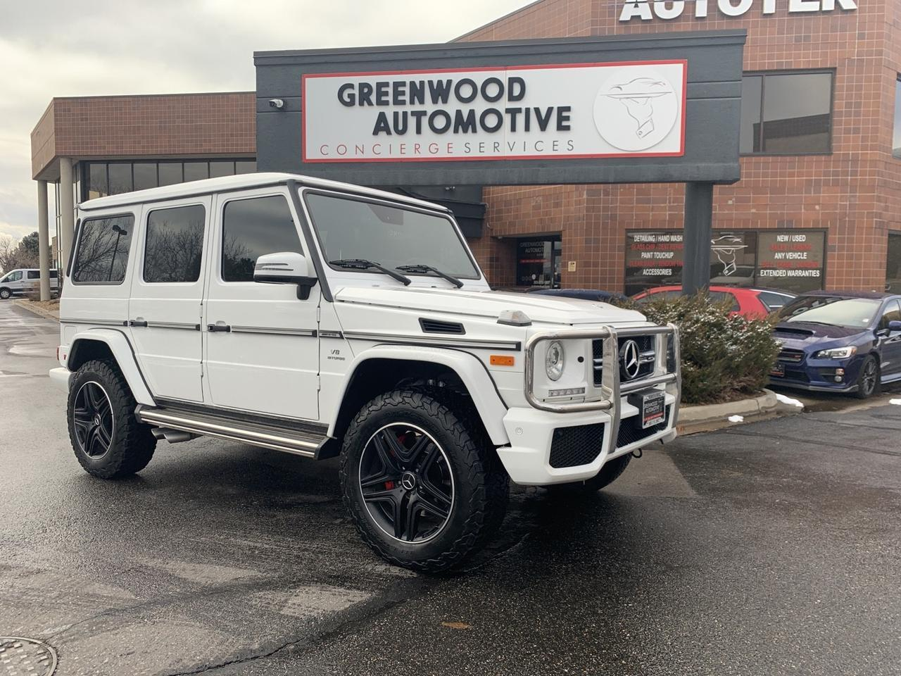 2017 Mercedes-Benz G-Class AMG G 63 Greenwood Village CO