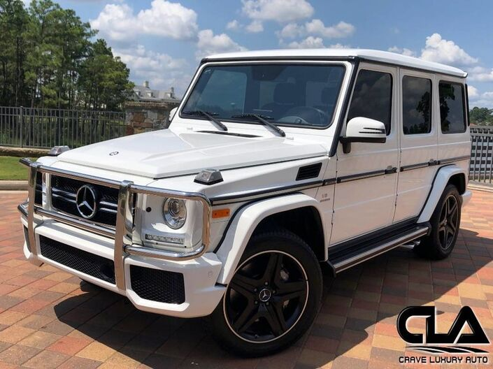 2017 Mercedes-Benz G-Class AMG G 63 The Woodlands TX
