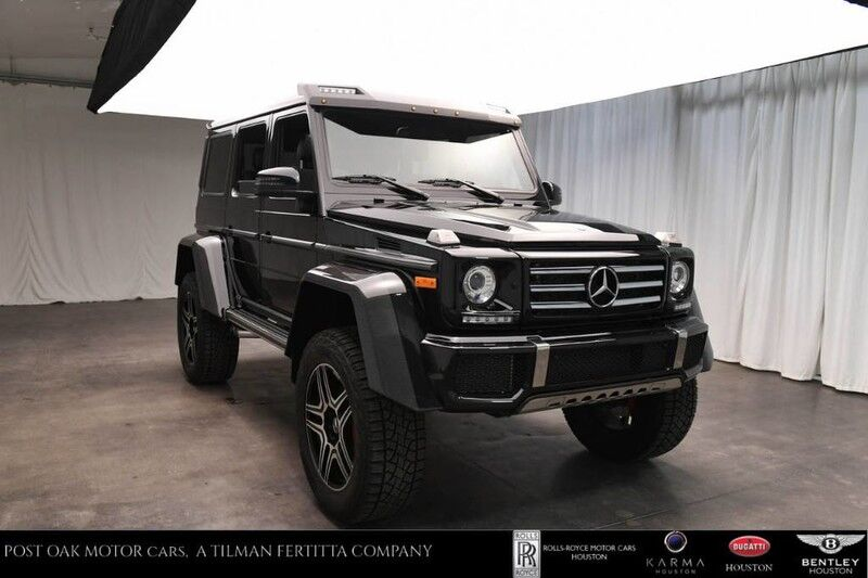 Used 2017 Mercedes-Benz G-Cl G 550 4x4 Squared in Houston TX G Mercedes Radio Wiring Harness on