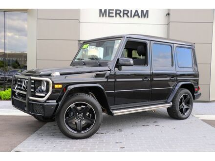 2017_Mercedes-Benz_G-Class_G 550_ Merriam KS