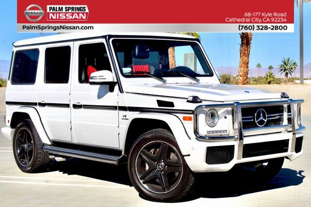 2017 Mercedes-Benz G-Class G 63 AMG® Cathedral City CA