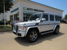 2017_Mercedes-Benz_G-Class_G550 4MATIC,Adaptive Cruise Control, Blind spot, Heated/Cooled sts, Navi, Sunroof, Factory Warranty_ Plano TX