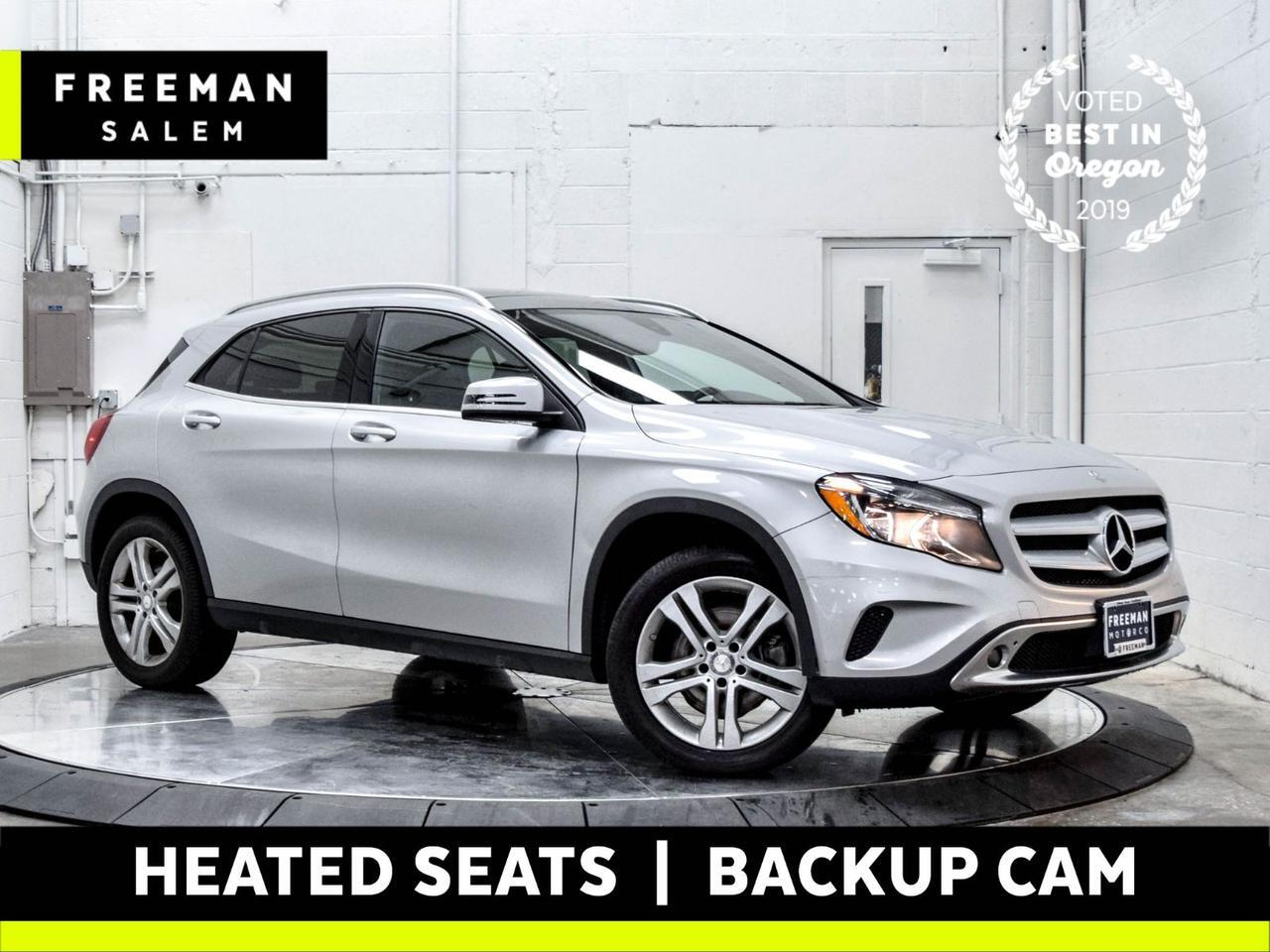2017 Mercedes-Benz GLA 250 4MATIC Pano Roof Backup Cam Heated Seats Salem OR