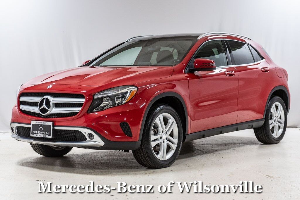 2017 Mercedes-Benz GLA GLA 250 4MATIC® SUV Wilsonville OR