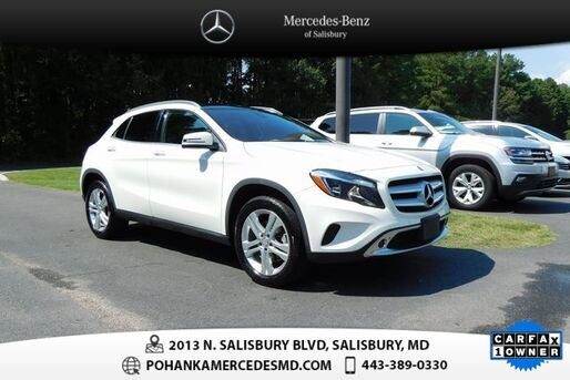 2017_Mercedes-Benz_GLA_GLA 250 4MATIC®_ Salisbury MD