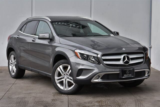 2017 Mercedes-Benz GLA GLA 250 4MATIC® SUV Seattle WA