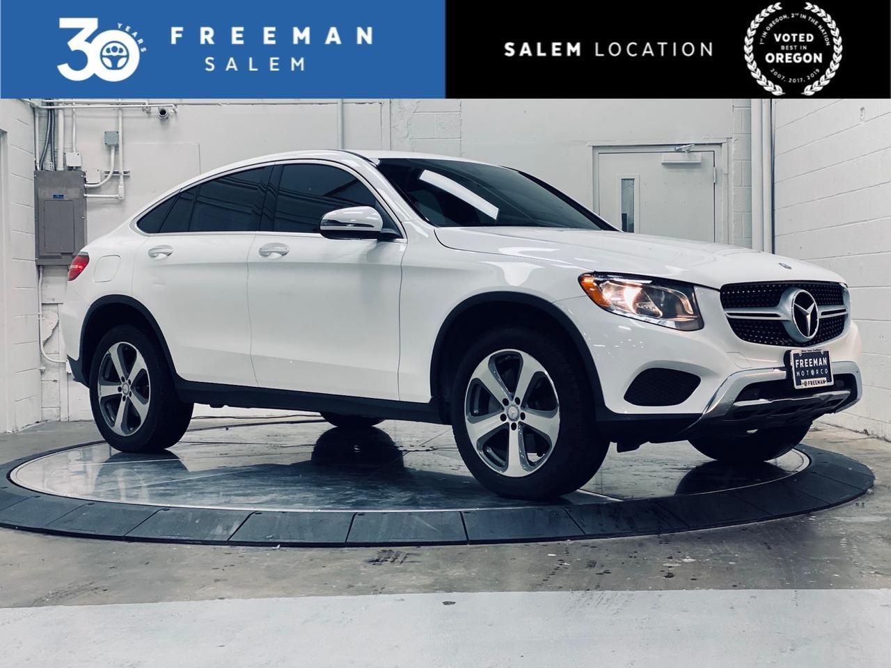 2017 Mercedes-Benz GLC 300 4MATIC Coupe Backup Cam Blind Spot Assist Salem OR