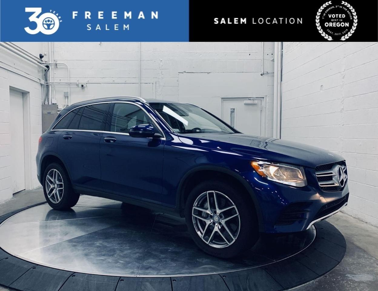 2017 Mercedes-Benz GLC 300 4MATIC Sport Package Blind Spot Assist Salem OR