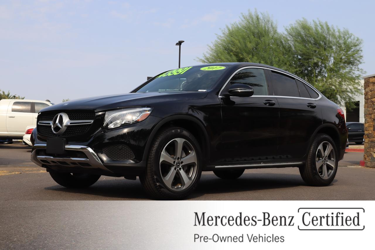 2017 Mercedes-Benz GLC 300 4MATIC® Coupe Gilbert AZ