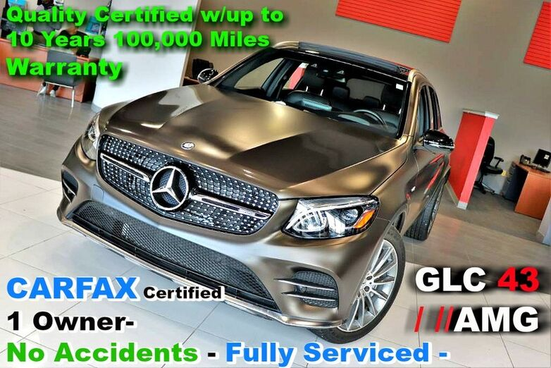 2017 Mercedes-Benz GLC AMG GLC 43 Designo - CARFAX Certified 1 Owner- No Accidents - Fully Serviced - Quality Certified w/up to 10 Years 100,000 Miles Warranty Springfield NJ