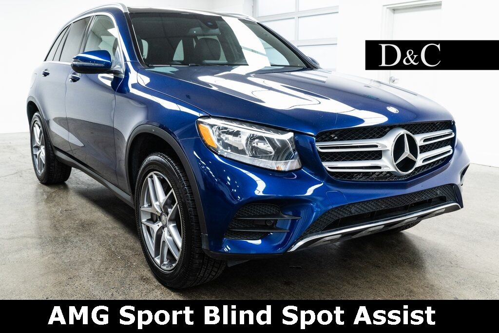 2017 Mercedes-Benz GLC GLC 300 4MATIC AMG Sport Blind Spot Assist Portland OR
