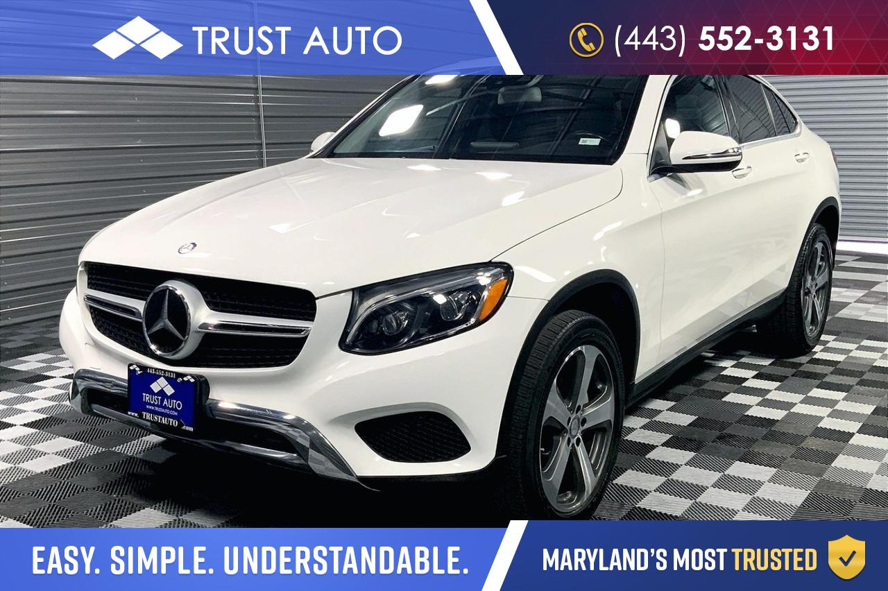 2017 Mercedes-Benz GLC GLC 300 4MATIC AWD Coupe Premium 3 Pkg Sykesville MD
