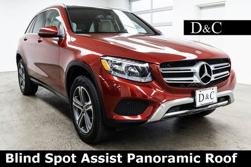 2017 Mercedes-Benz GLC GLC 300 4MATIC Blind Spot Assist Panoramic Roof Portland OR