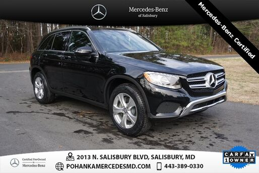 2017_Mercedes-Benz_GLC_GLC 300 4MATIC® ** Mercedes-Benz Certified **_ Salisbury MD