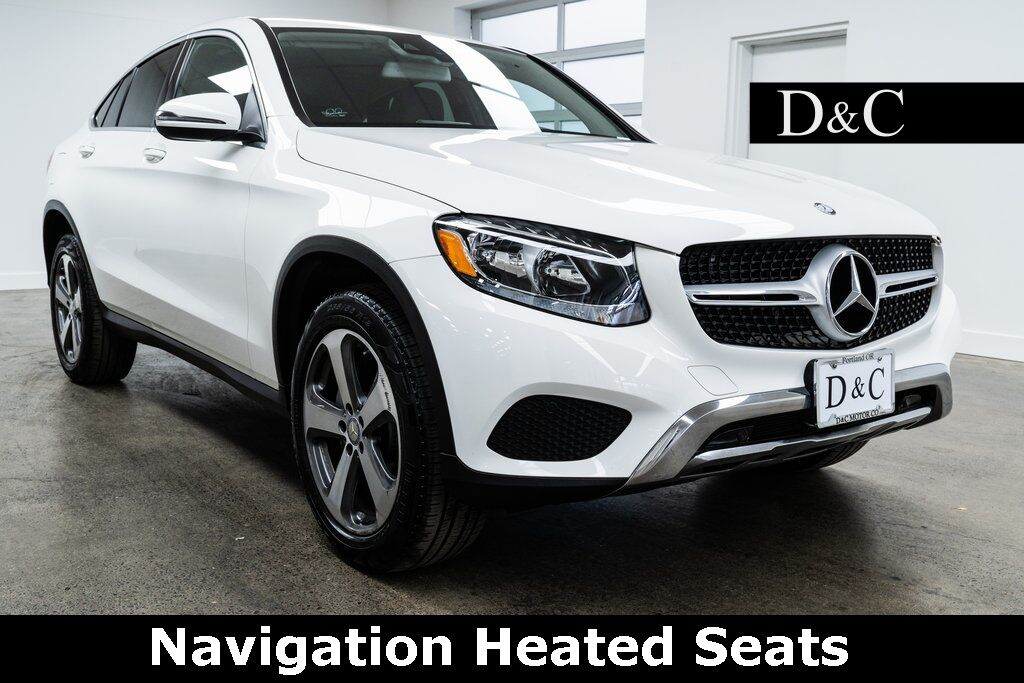 2017 Mercedes-Benz GLC GLC 300 Coupe 4MATIC Navigation Heated Seats Portland OR