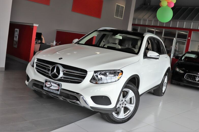 2017 Mercedes-Benz GLC GLC 300 Premium 1 Package Heated Front Seats Panorama Roof Burmester Sound 1 Owner Springfield NJ