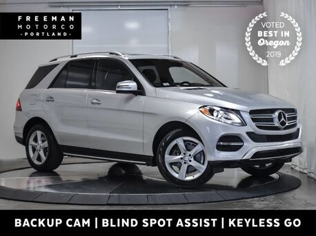 2017_Mercedes-Benz_GLE 350_4MATIC Blind Spot Assist Apple CarPlay_ Portland OR