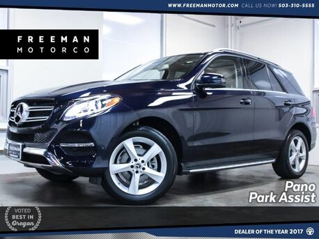 2017_Mercedes-Benz_GLE 350_4MATIC Pano Park Assist Blind Spot Assist_ Portland OR