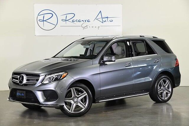 2017 Mercedes-Benz GLE 400 AMG Sport Blind Spot Assist Running Boards The Colony TX
