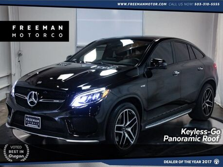2017_Mercedes-Benz_GLE 43_AMG 4MATIC Pano Roof Surround View Cam Nav_ Portland OR