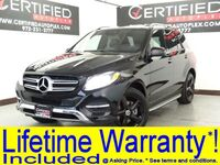 Mercedes-Benz GLE 4MATIC NAVIGATION SUNROOF BLIND SPOT ASSIST LANE ASSIST REAR CAMERA ACTIVE 2017