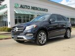 2017 Mercedes-Benz GLE-Class GLE550e 4MATIC LEATHER, DUAL MOONROOF, BACKUP CAM, BLIND SPOT, HTD/CLD SEATS, UNDER FACTORY WARRANTY