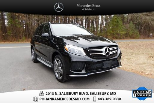 2017_Mercedes-Benz_GLE_GLE 350 ** MB CPO EVENT-2FREE PMT CREDITS UP TO $1,500  **_ Salisbury MD