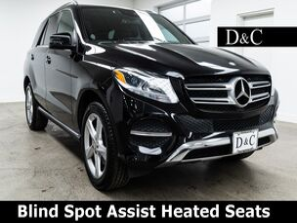 2017 Mercedes-Benz GLE GLE 350 4MATIC Blind Spot Assist Heated Seats