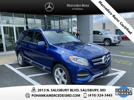 2017_Mercedes-Benz_GLE_GLE 350 4MATIC®** Mercedes-Benz Certified Pre-Owned **_ Salisbury MD